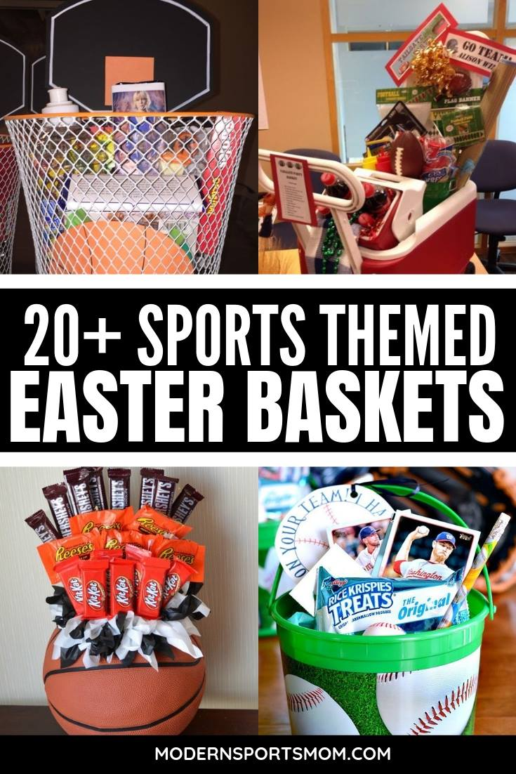 Fun Sports Easter Basket Ideas for boys and girls! #easterbaskets