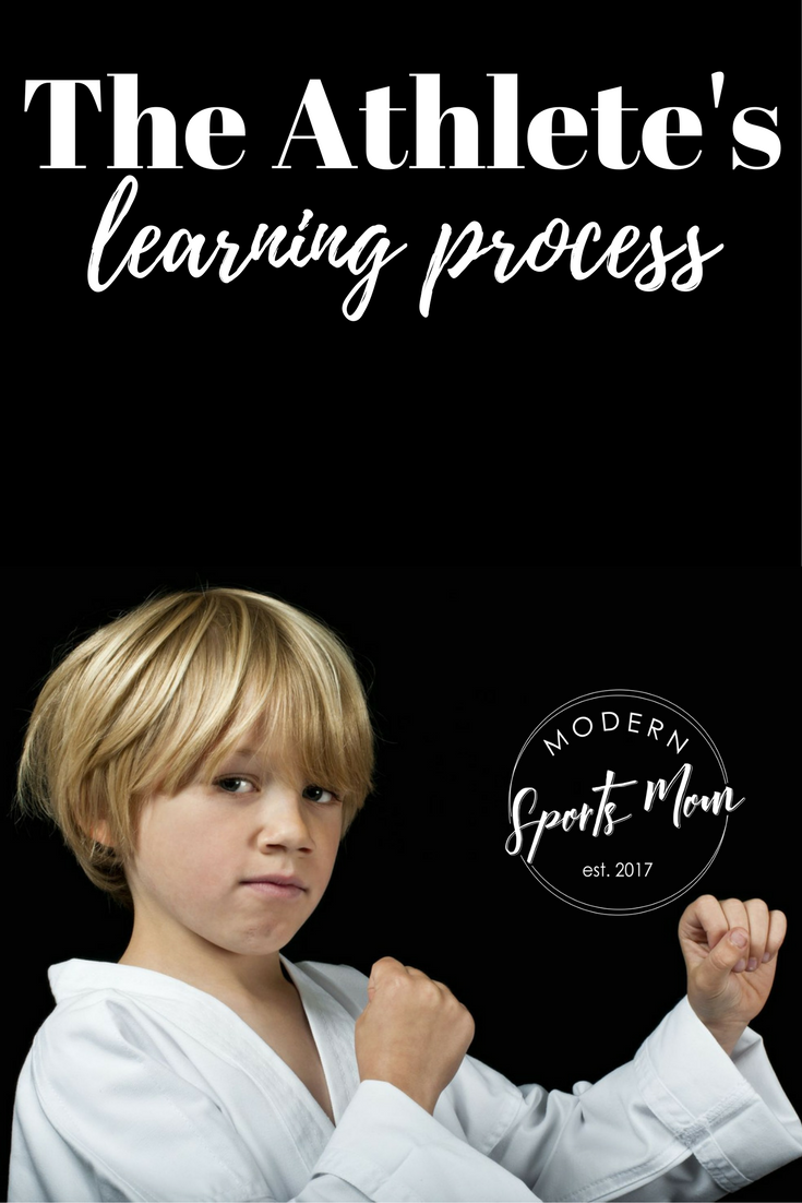 """Embracing the athlete's learning process means that my son isn't the only family member learning a lesson.""""width="""