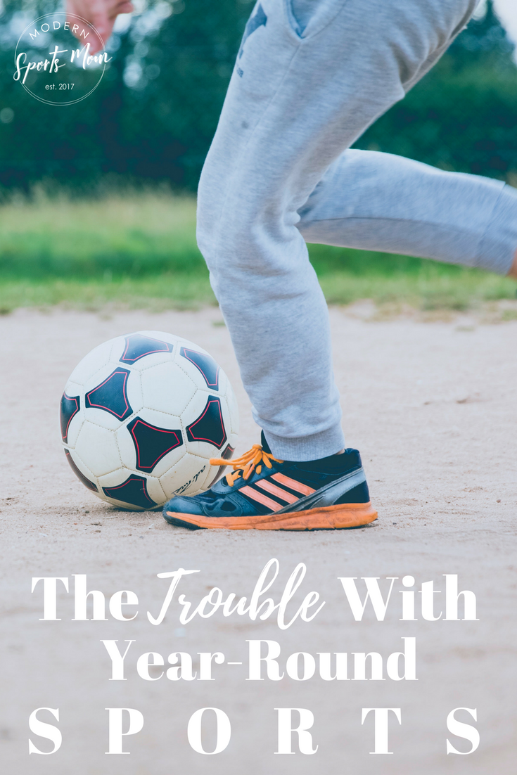 There is such a thing as too much of a good thing though, which is why our family, as sports crazy as we are, do not allow our kids to play organized sports year round.