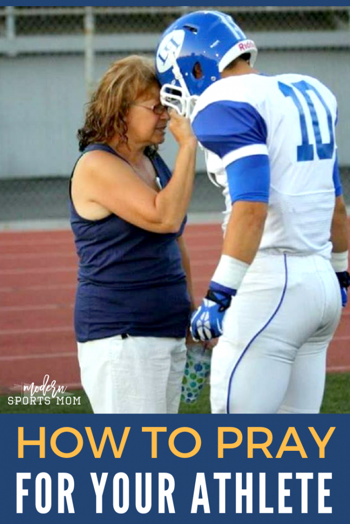 Learn how to pray for your athlete