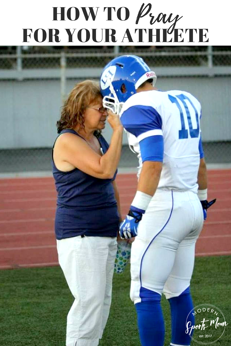 How to pray for your athlete, pray for your child
