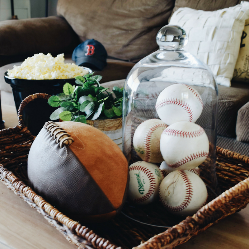 Sports Themed Coffee Table