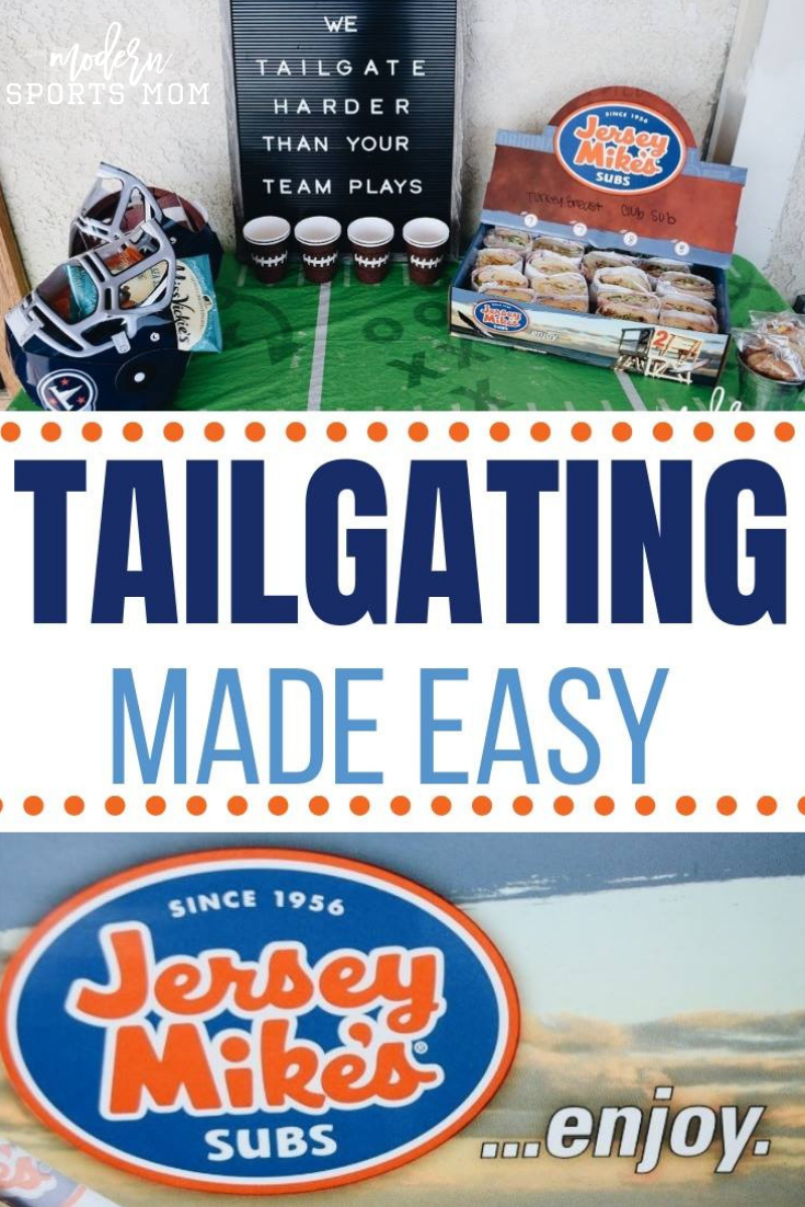 Tailgating Made Easy With Jersey Mikes