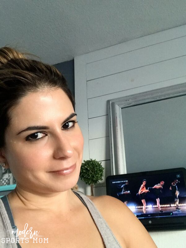 Working out at home with Les Mills