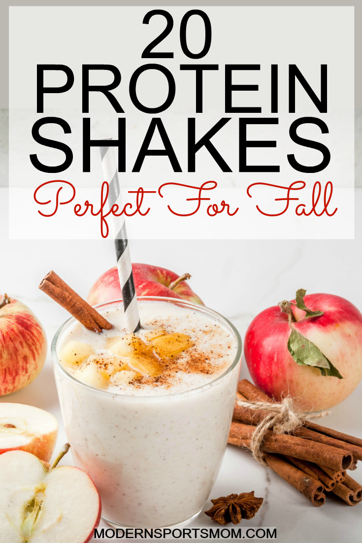 20 protein shakes for the fall season