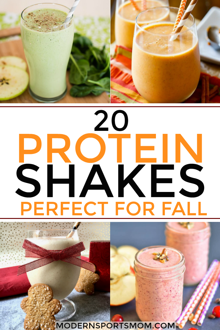protein shakes for the fall season