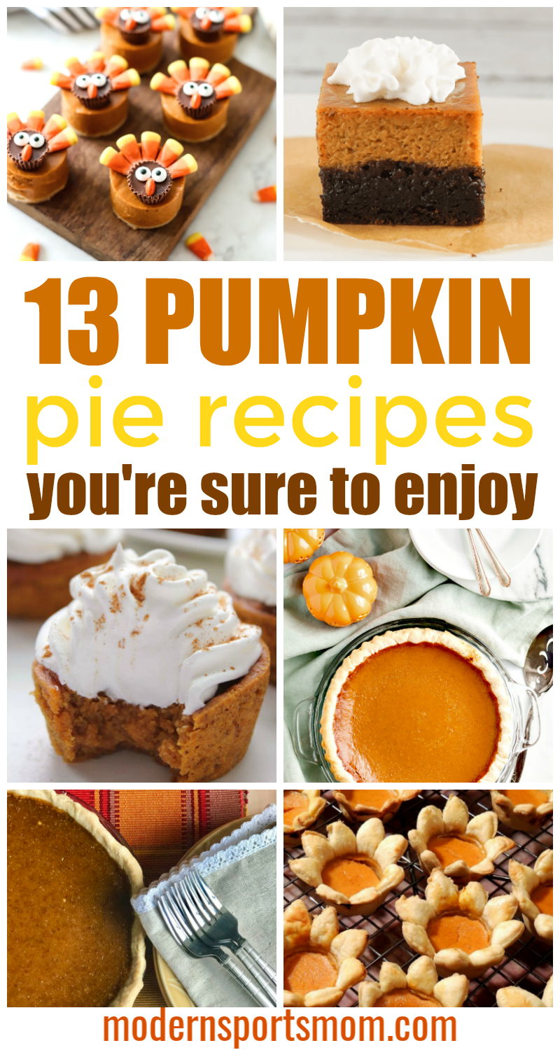 Pumpkin Pie Recipes - You are sure to love
