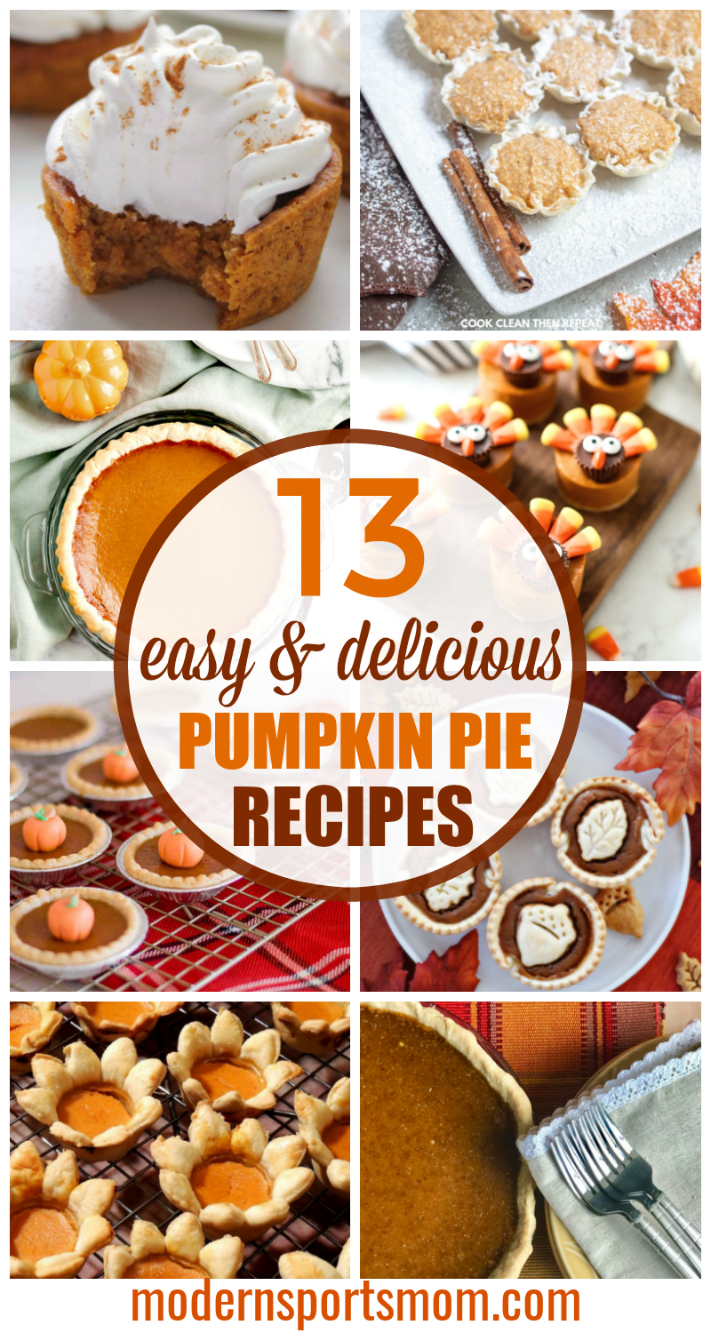 pumpkin pie recipe collection