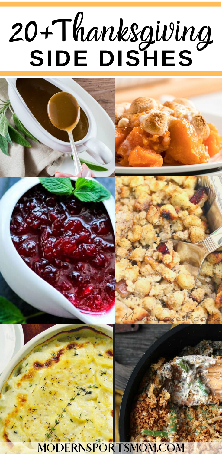 Easy to make Thanksgiving Side Dishes
