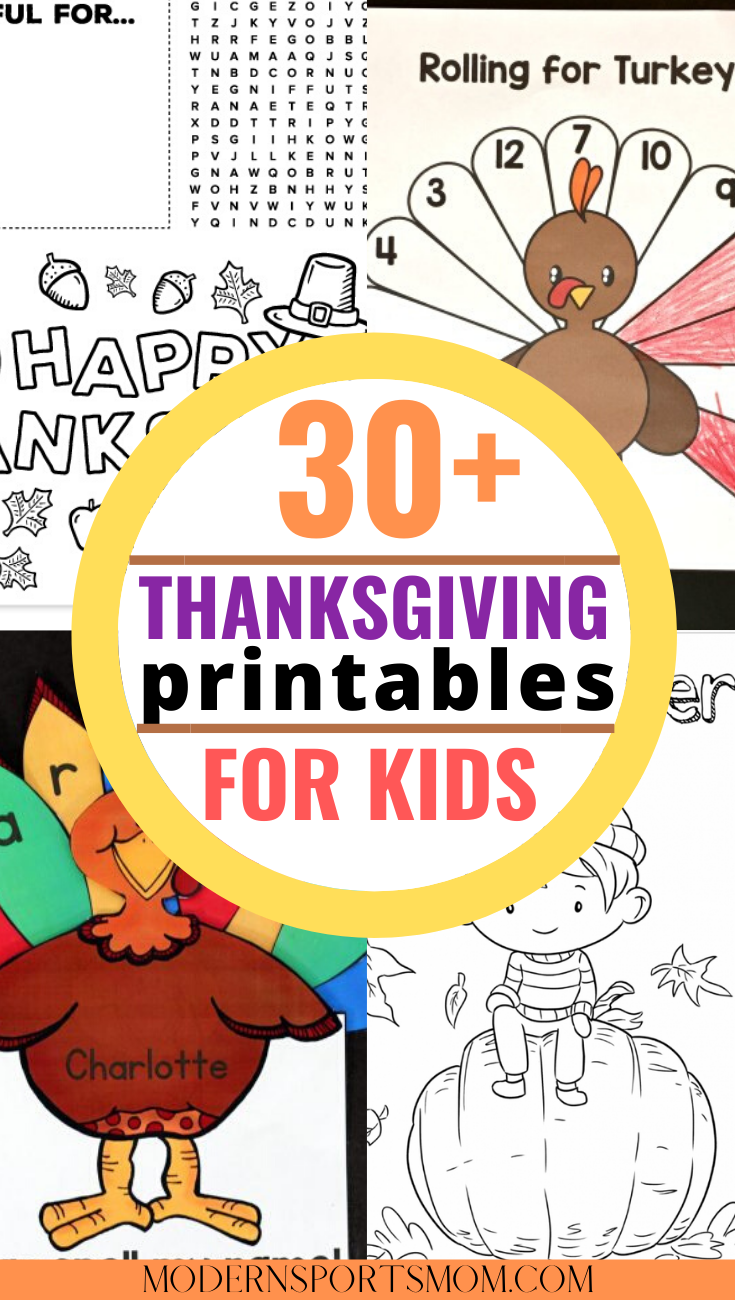 thanksgiving printable for kids