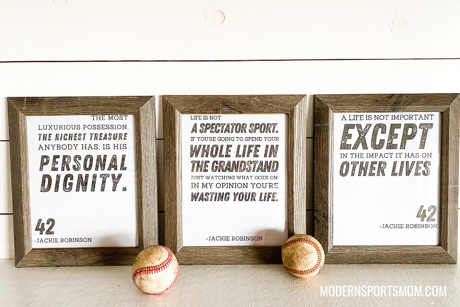 Honoring Jackie Robinson Day - Printables